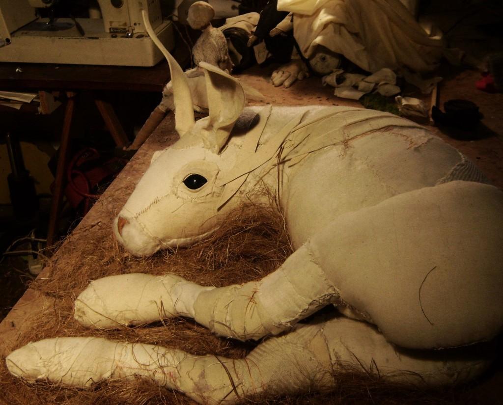 Valeria Dalmon - Textiles sculptures bunny
