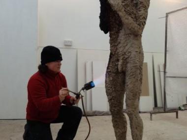 Anna Gillespie – Sculptures atelier