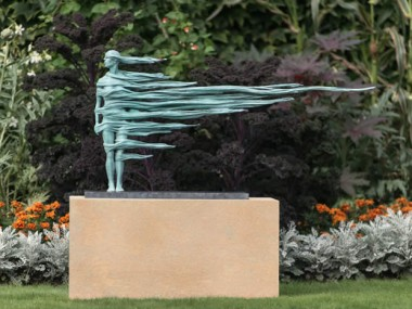 Anna Gillespie – To the Limit II / Sculptures Bronze