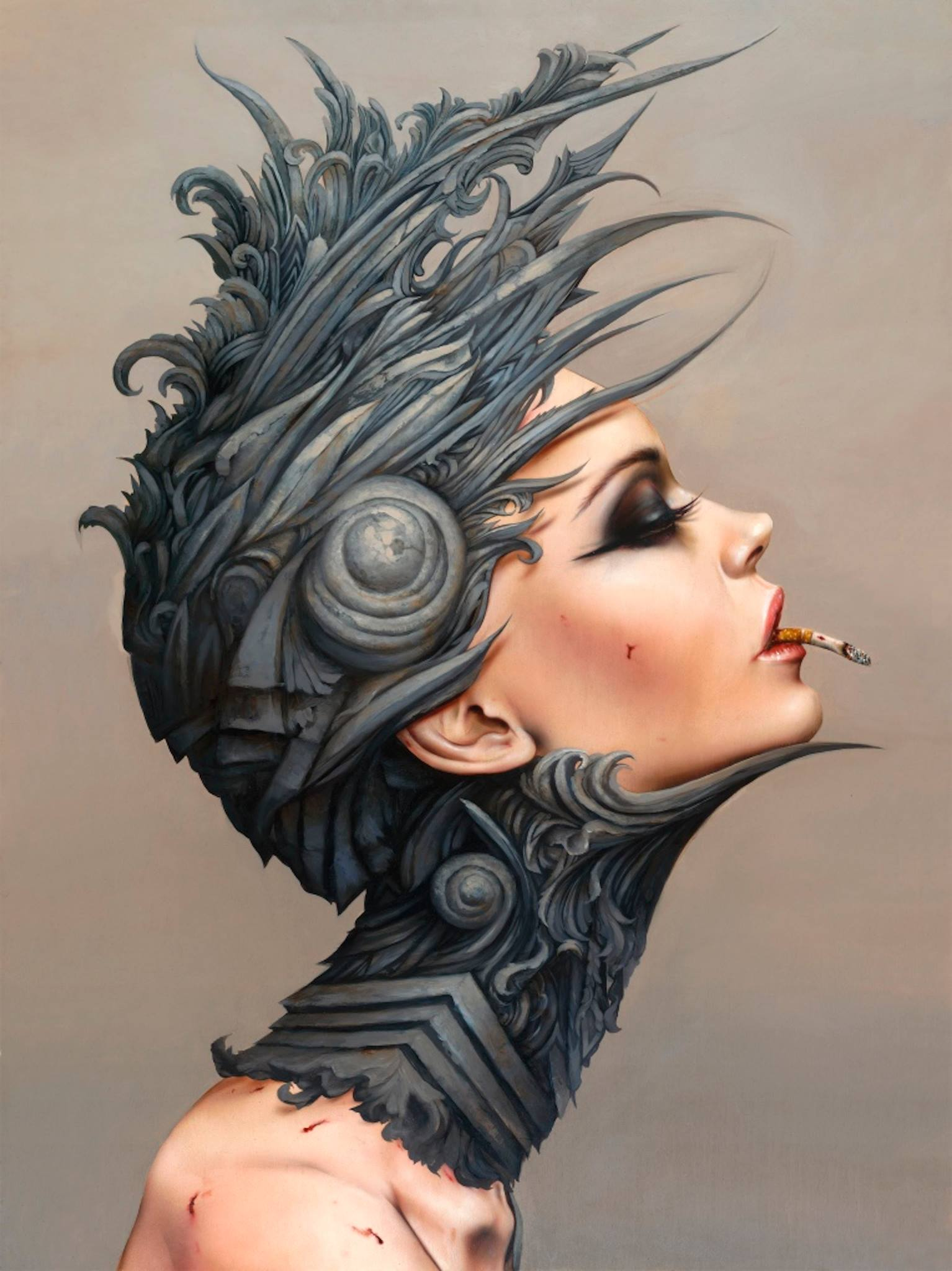 Brian M. Viveros – DESENSITIZED 13 / Paintings