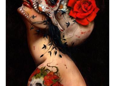 Brian M. Viveros – VIVA LA MUERTE / Paintings