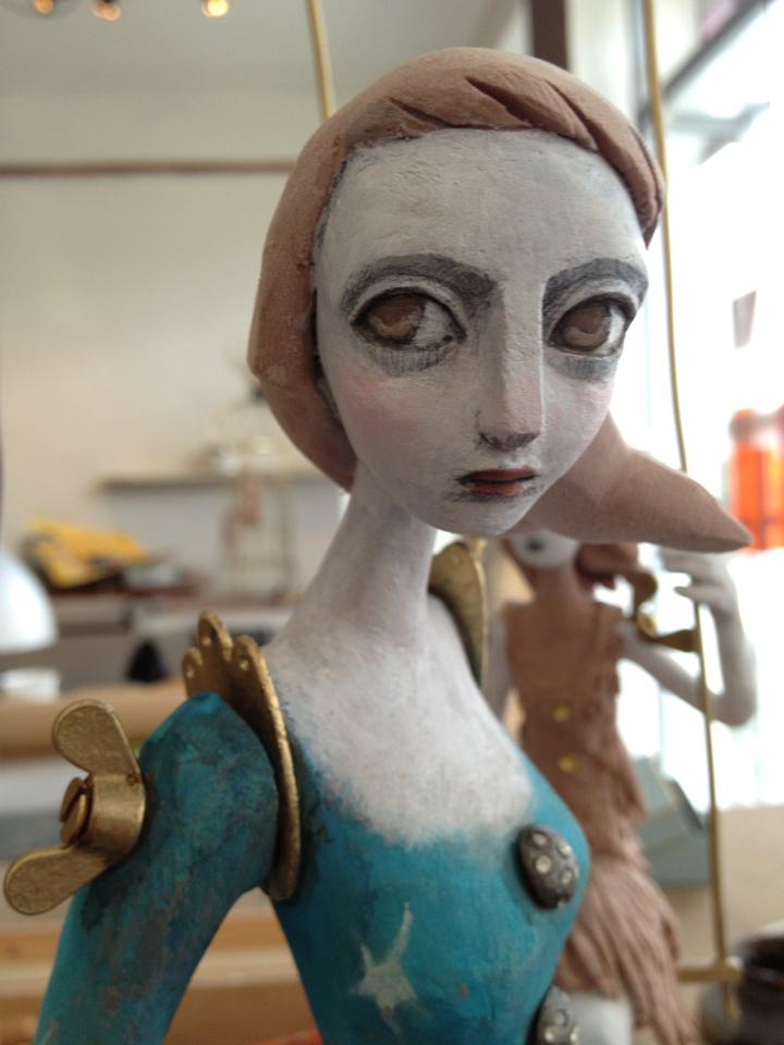 Clementine De Chabaneix – Femme tigre / poetique sculptures