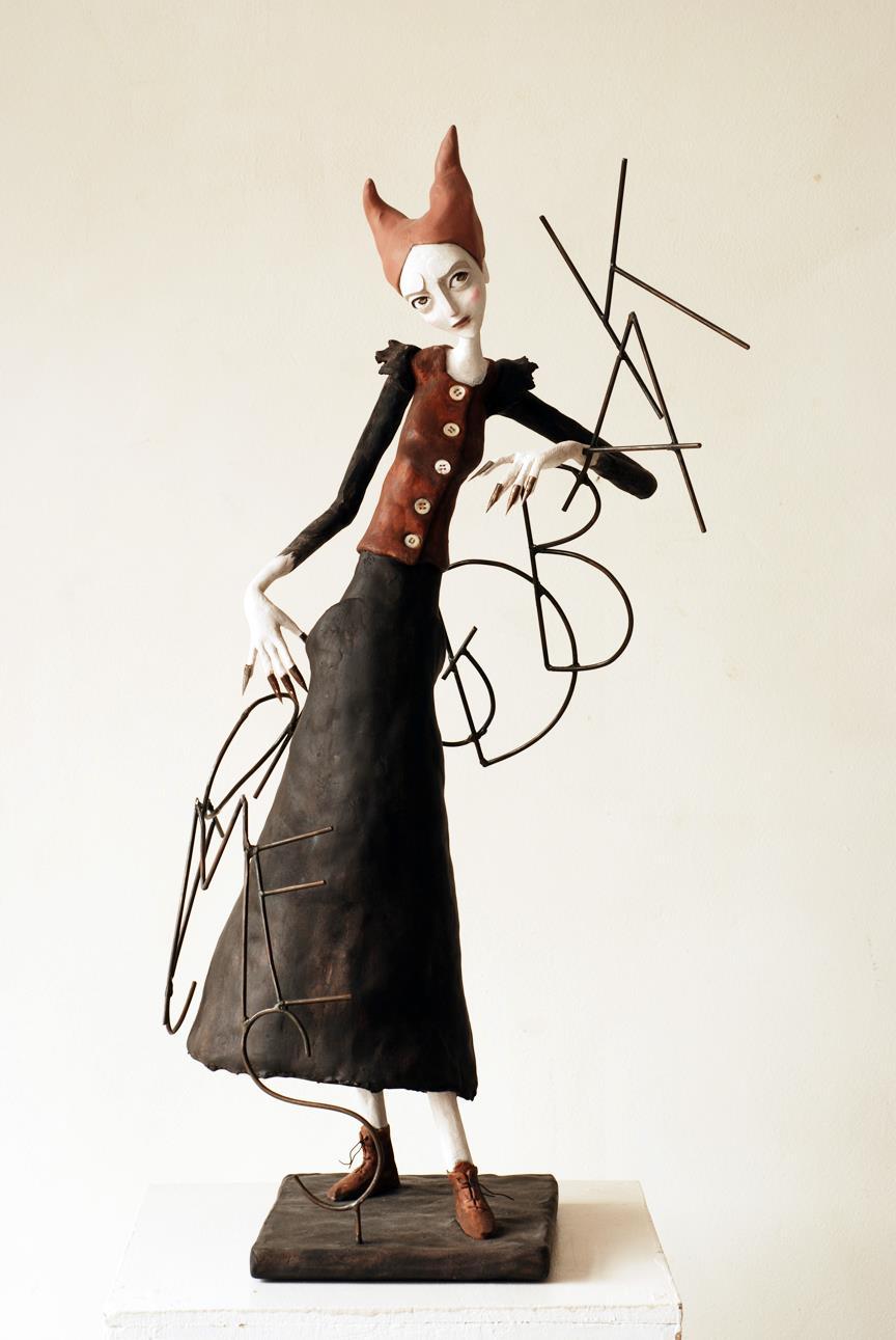Clementine De Chabaneix – L'orthographe / sculptures figuratives
