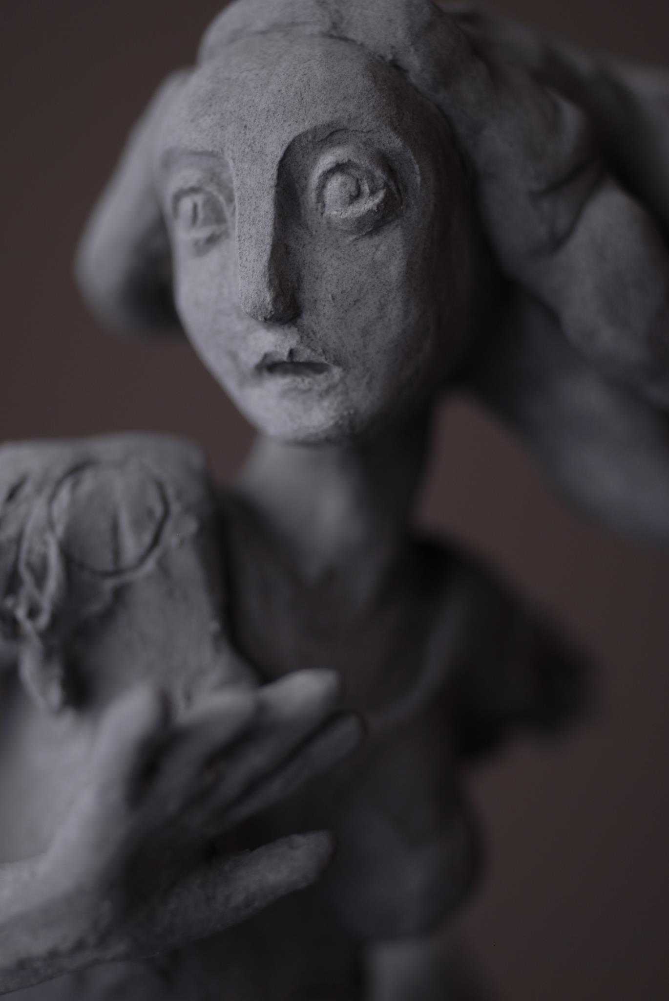 Clementine De Chabaneix – pieuvre grise / sculptures figuratives