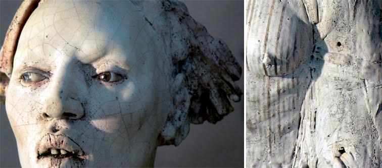 Cristina Cordova – Sculptures – El aire huele a humo