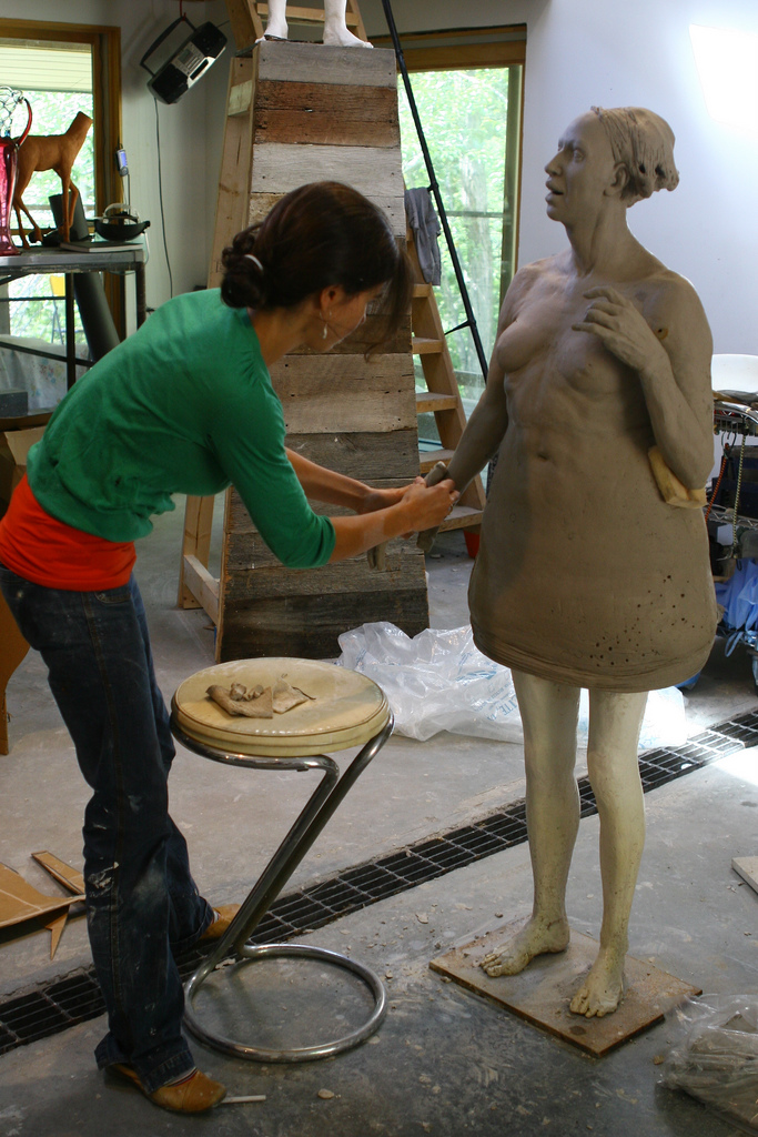 Cristina Cordova – Sculptures – portraits