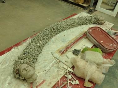 Cristina Cordova – Sculptures – on progress