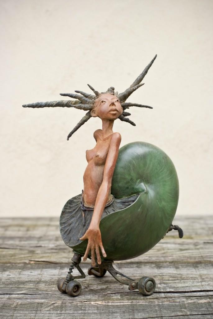 Dirk De Keyzer – Sculptures bronze