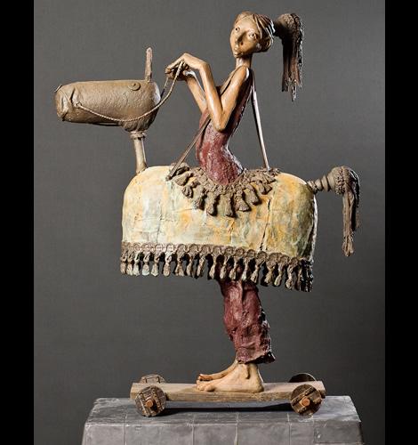 Dirk De Keyzer - Sculptures bronze
