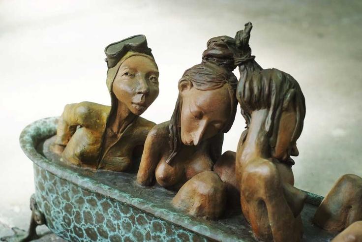 Dirk De Keyzer – Sculptures