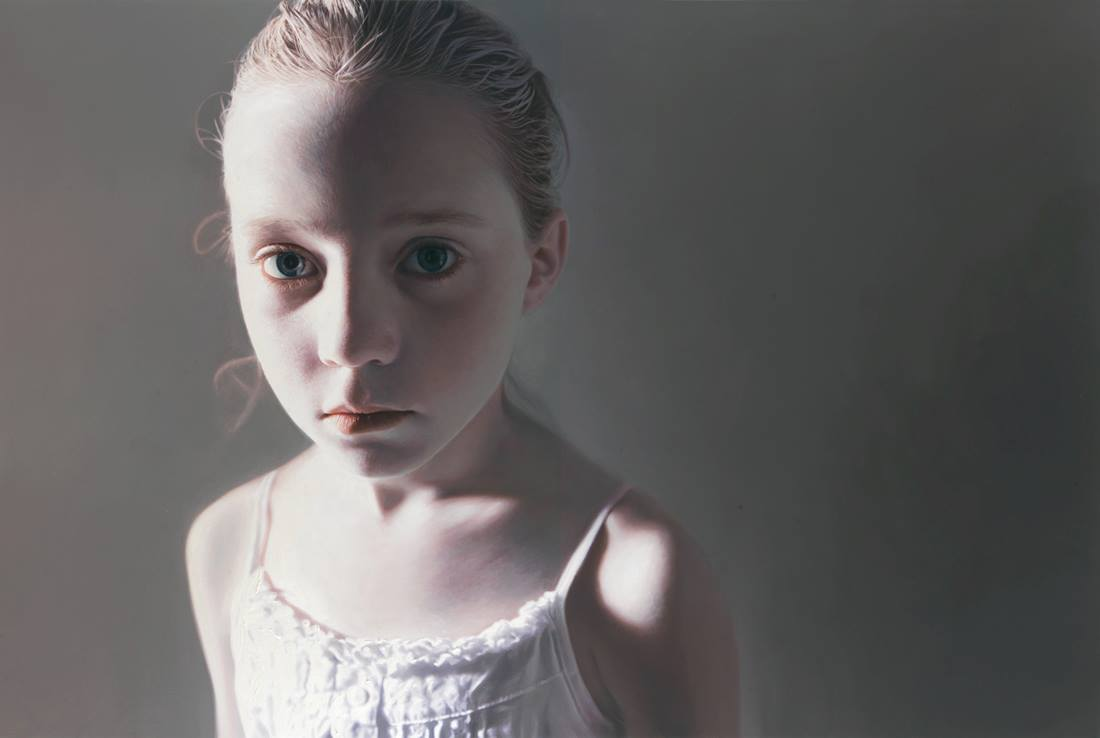Gottfried Helnwein – Murmur of the Innocents 13 – 2009 – 220 x 330cm, mixed media (oil and acrylic on canvas)