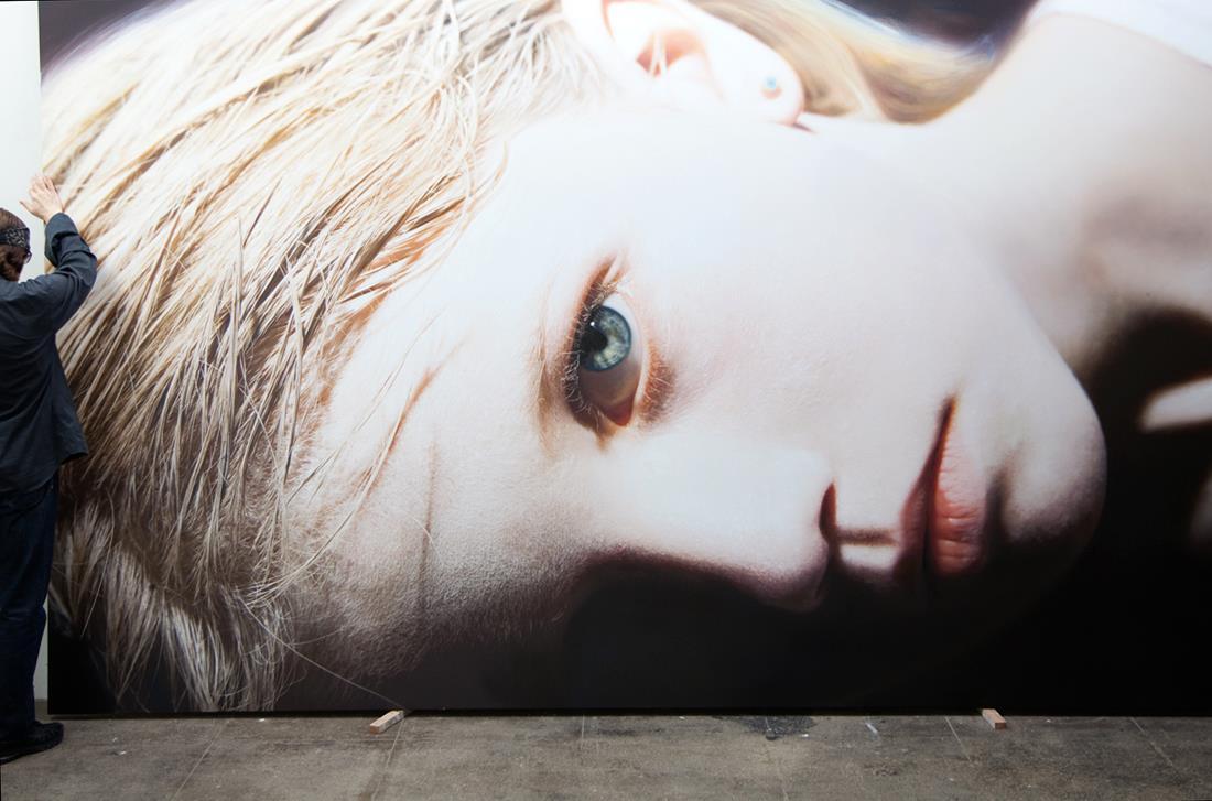 Gottfried Helnwein – painting
