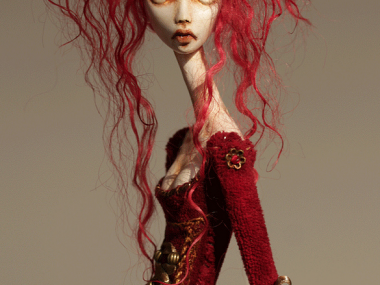 Tireless Artist – Art dolls / Lady in Waiting
