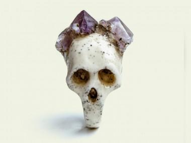 Macabre Gadgets – Bifacial Skull / Beautiful rings