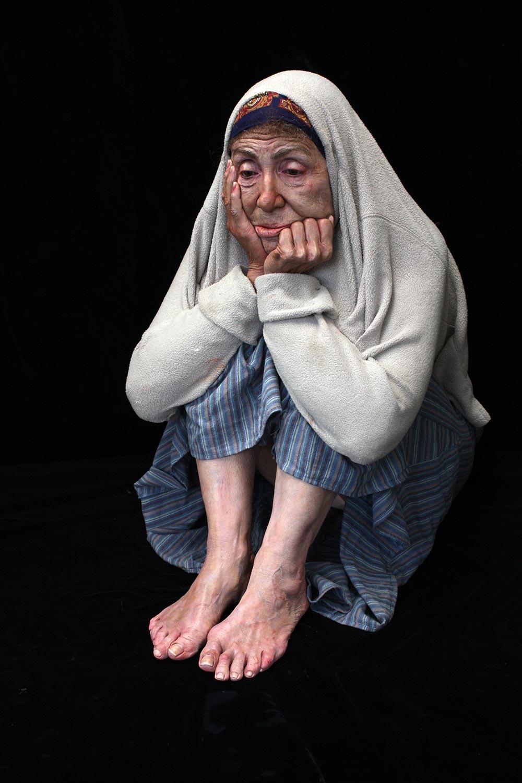 Marc Sijan Life-Size Figurative Hyper Realistic Sculpture