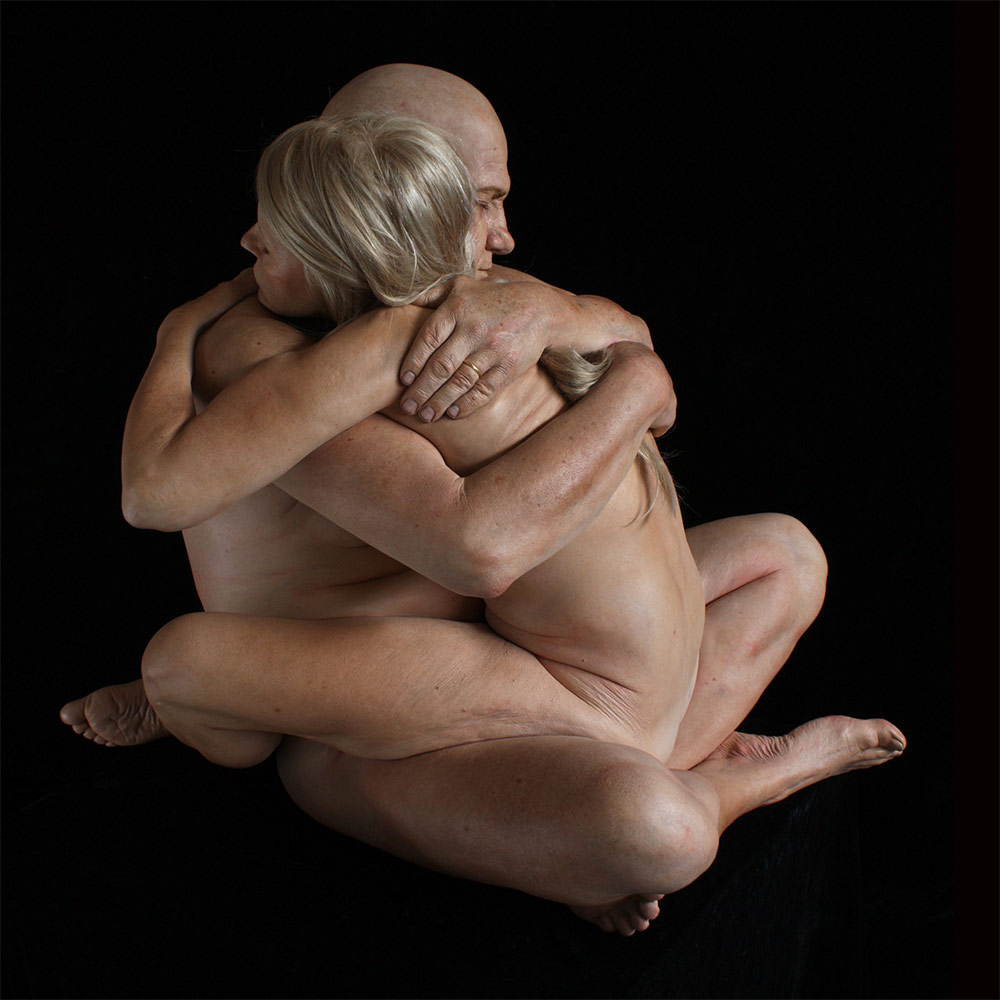 Marc Sijan – embrace / Sculptures hyper-realistes