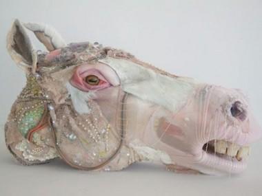 Monica Cook – mixed media sculptures / horse