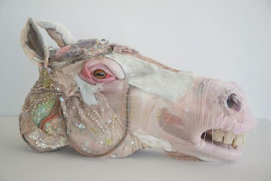 Monica Cook – mixed media sculptures / horse