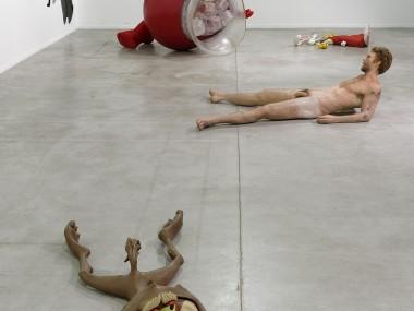 Dan colen – Sculptures hyper-realiste – Biennale de Lyon / Livin and Dyin