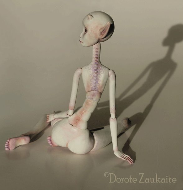 Tireless Artist - Art dolls / White Tender Demon