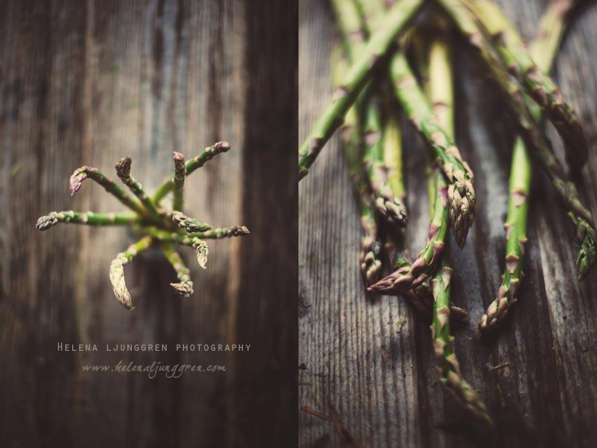 helena ljunggren – asperges / Creativ food photography