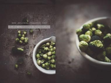 helena ljunggren – choux de bruxelle / Creativ food photography