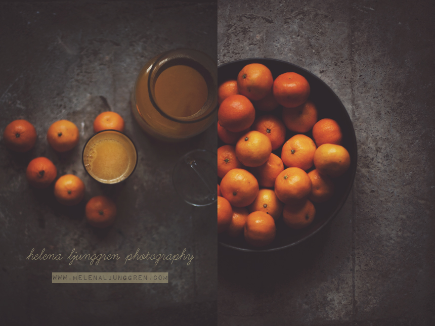 helena ljunggren - clementines / Creativ food photography