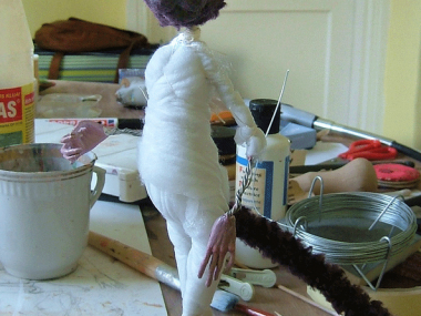 Tireless Artist – Art dolls / in progress