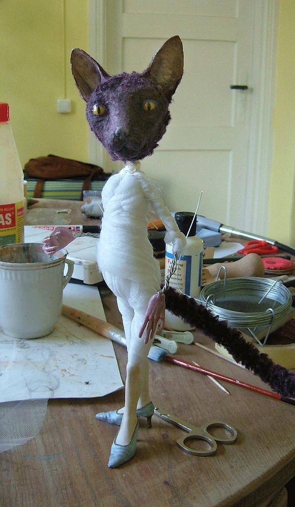 Tireless Artist – Art dolls / in progress