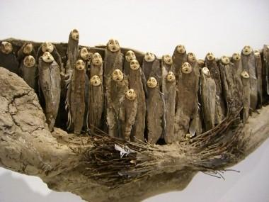 jephan de villiers – Nomade du silence / Sculptures matieres naturelles