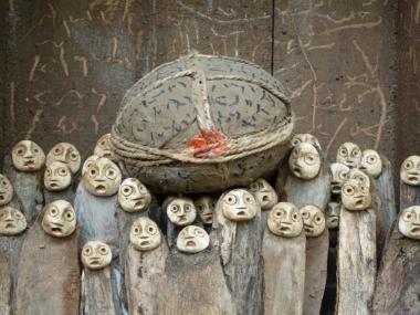 jephan de villiers – Sculptures – L'humanite / Sculptures matieres naturelles