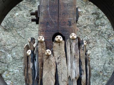 jephan de villiers – Sculptures matieres naturelles