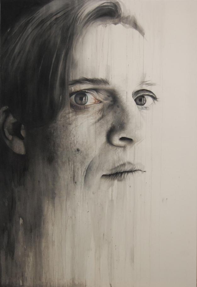 Annemarie Busschers – Self-Portrait painting
