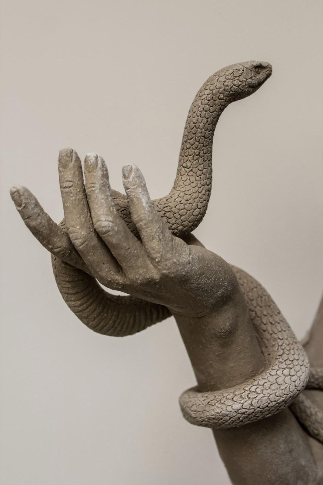 Colin and Kristine Poole – Deer Humanimal sculptures