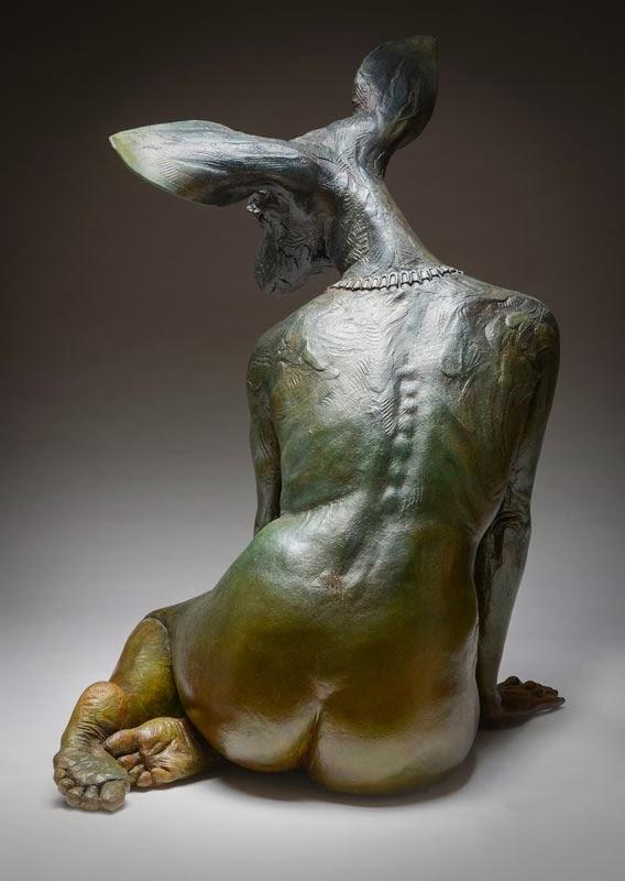 Colin and Kristine Poole – Sculpture – Spirit Deer