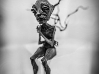 Herakut – nobody ever noticed the bunyip 2013 / mixed-media & Street artist