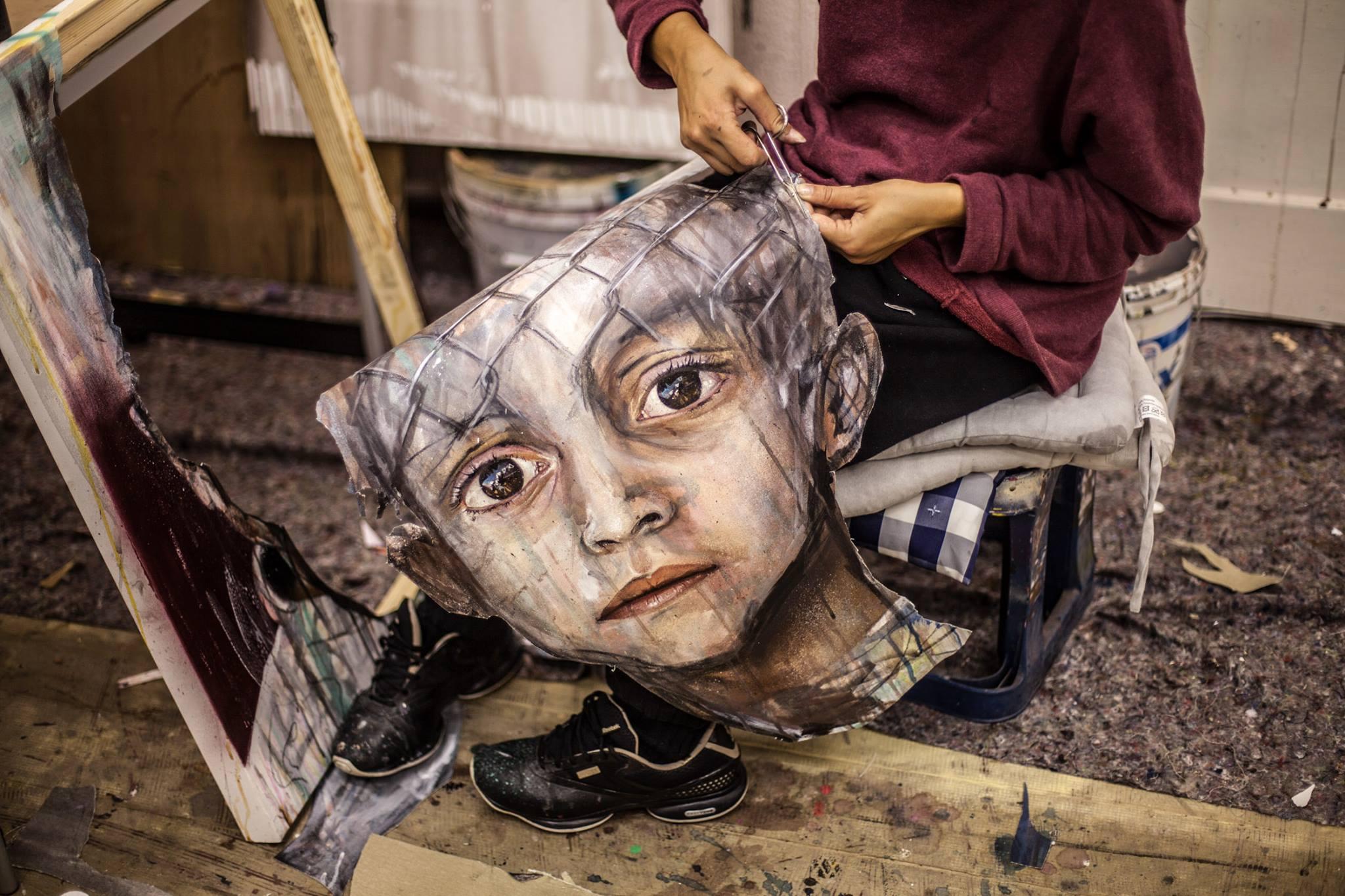 Herakut – paintings / Street artist