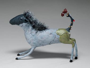 Izumi May – Tooting the Horn of Dilemma / Sculptures