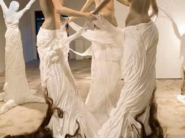Leah Brown sculptures – Borderland