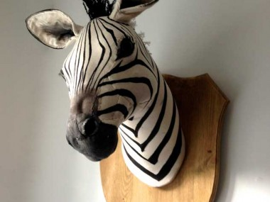 Textile Art Dolls – Characters by Julia – zebre