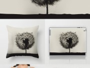 Dandelion birds -V2 / Print photographic, t-shirt, coussin, ipad, iphone, rugs, tapis