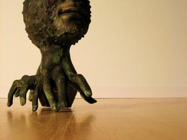 Cameron Stalheim – Carnage sculpture – bronze