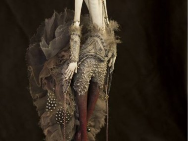 Dorote Zaukaite – Grey Siren dolls mixed media