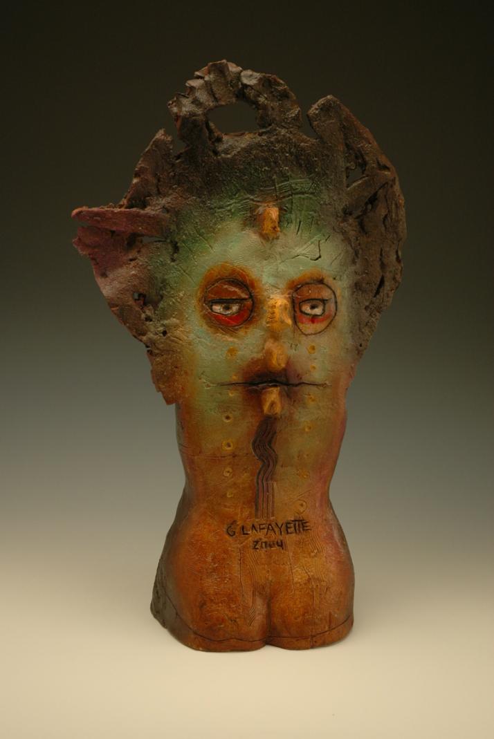 George Lafayette – Dream time back / Figuratives sculptures