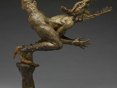 George Lafayette – I love you sculpture / Figuratives sculptures