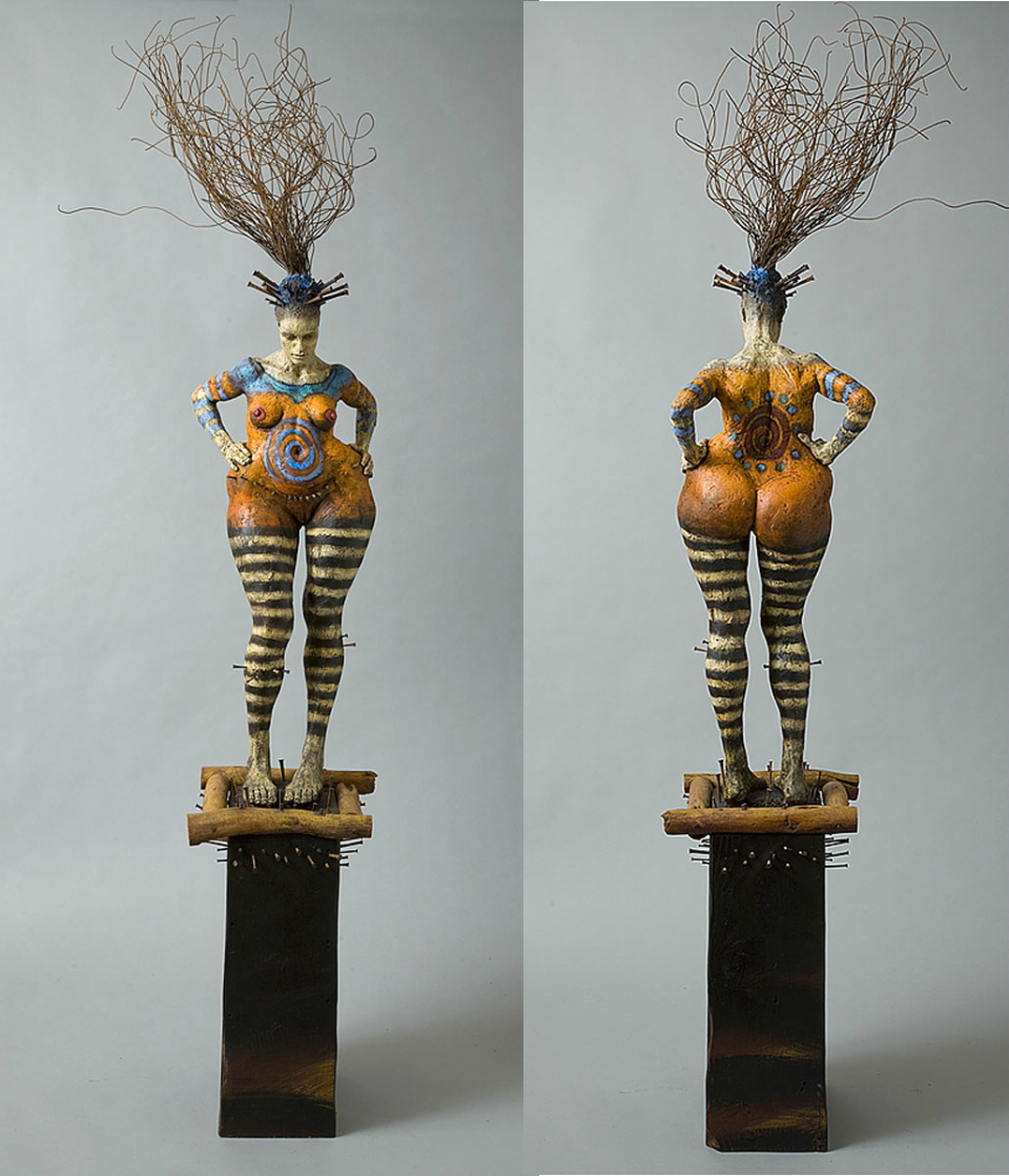 George Lafayette – Main course – Mixed media sculpture