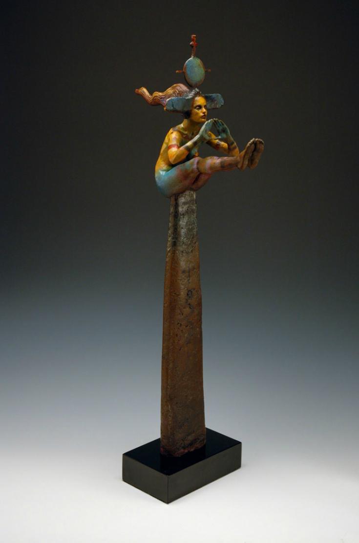 George Lafayette – Seeker Bronze / Figuratives sculptures
