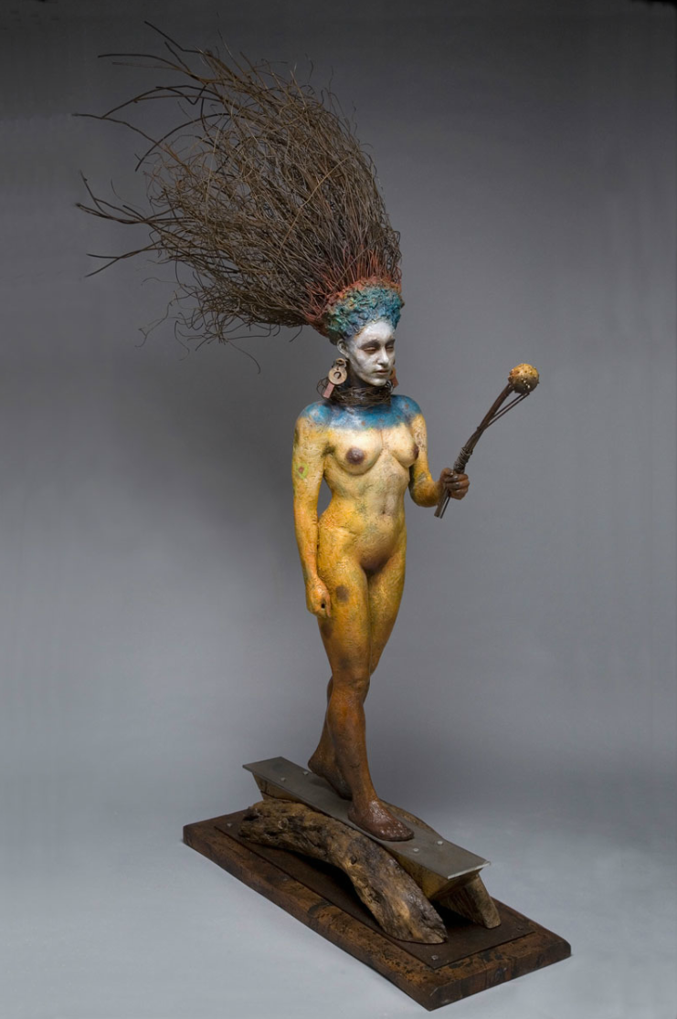George Lafayette – Spirit guide / Figuratives sculptures