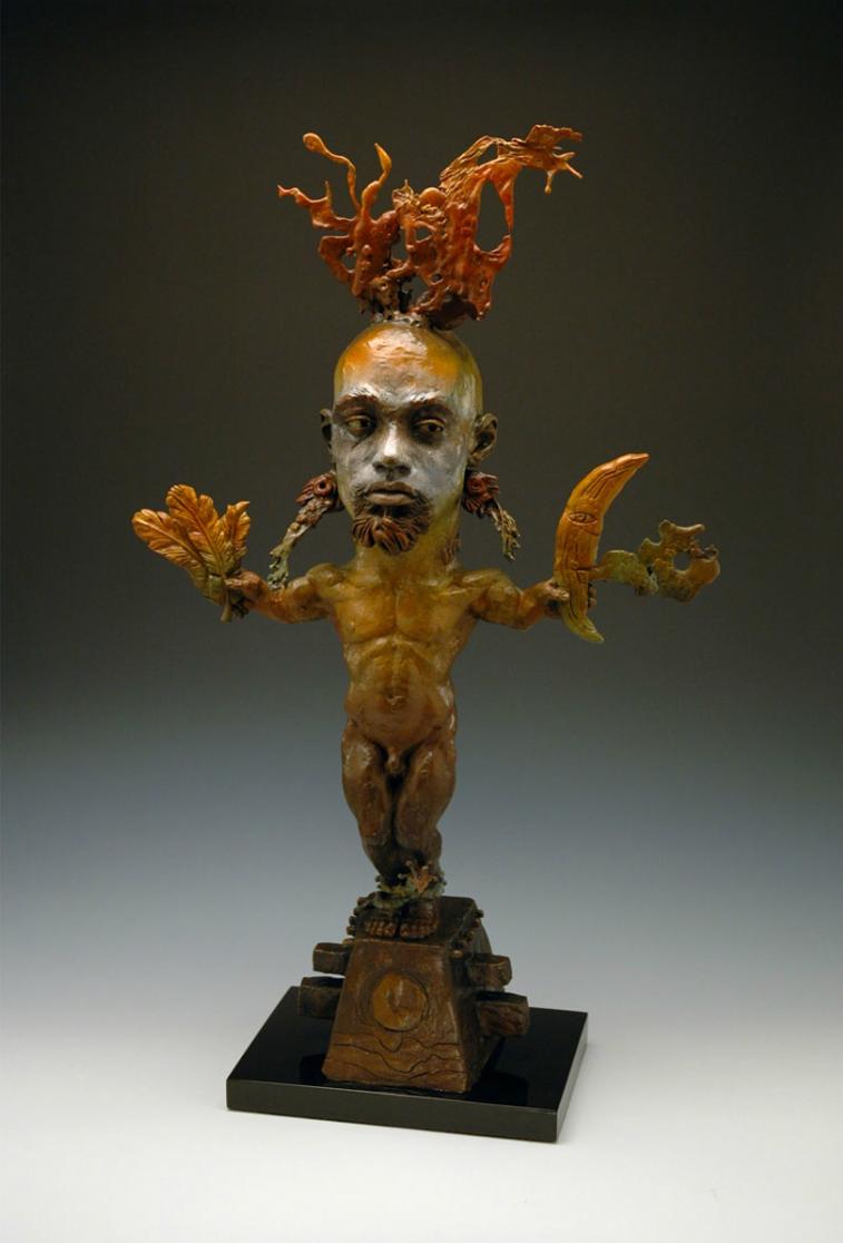 George Lafayette – figurative bronze