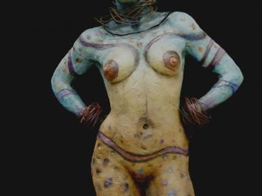 George Lafayette – sculpture- Lady with a destiny – ceramic / Figuratives sculptures